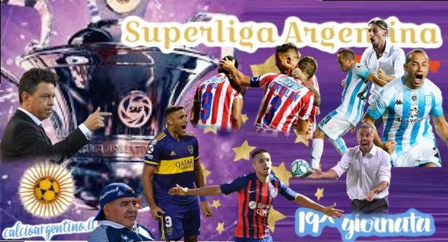 Que Locura la 19^ Giornata di Superliga Argentina!