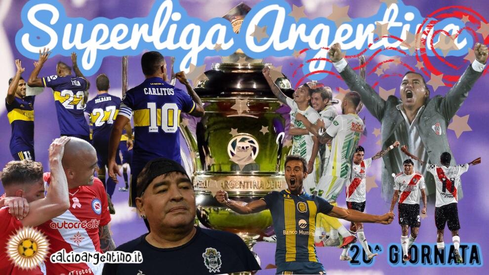 Conferme e speranze nella 20^ giornata di Superliga Argentina. (-3!)