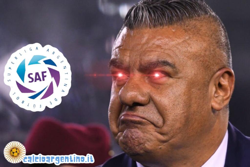 La strana storia della Superliga Argentina e del Comandante Chiqui Tapia