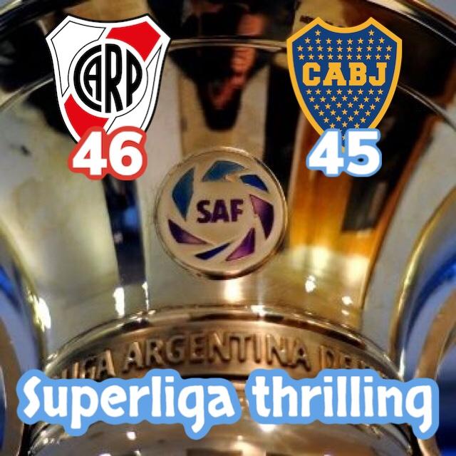 Superliga Argentina, il finale è thrilling! La situazione