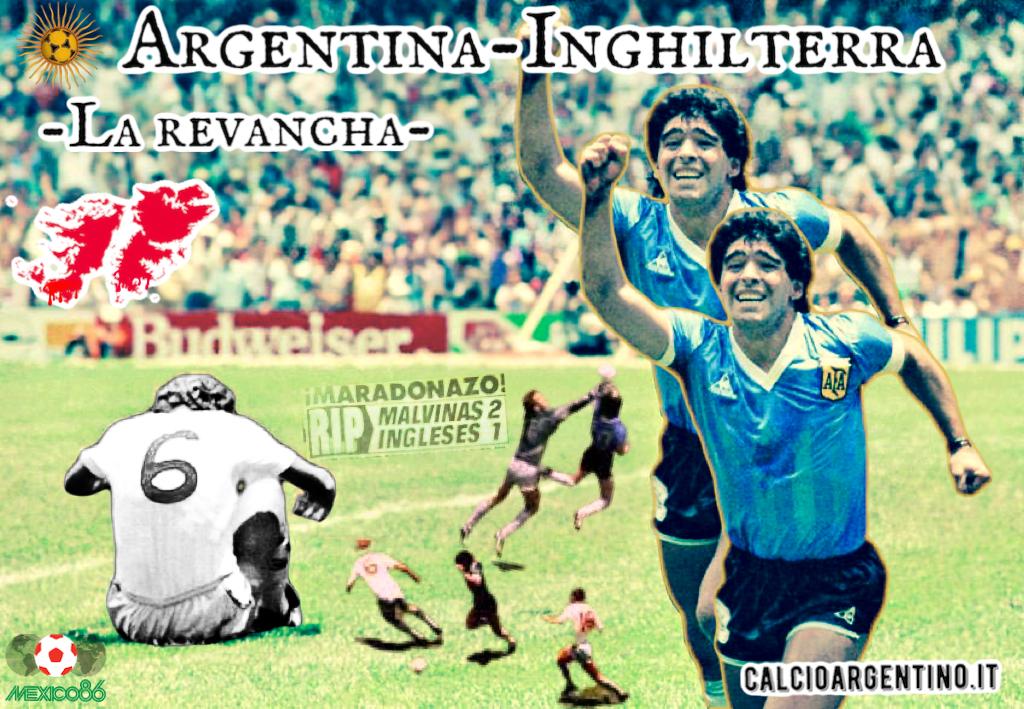 Argentina-Inghilterra. La revancha