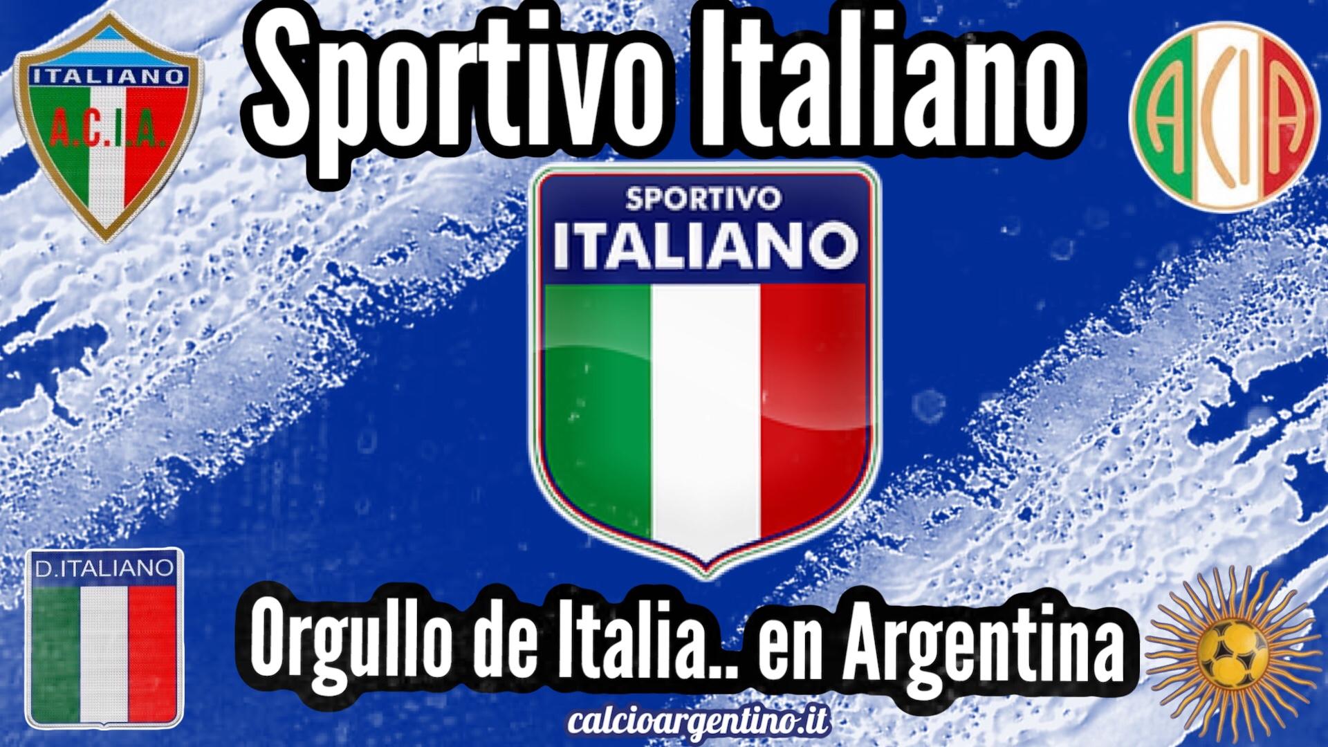 Sportivo Italiano, orgullo de Italia.. en Argentina