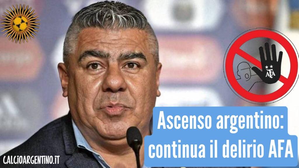 Ascenso argentino: continua il delirio AFA