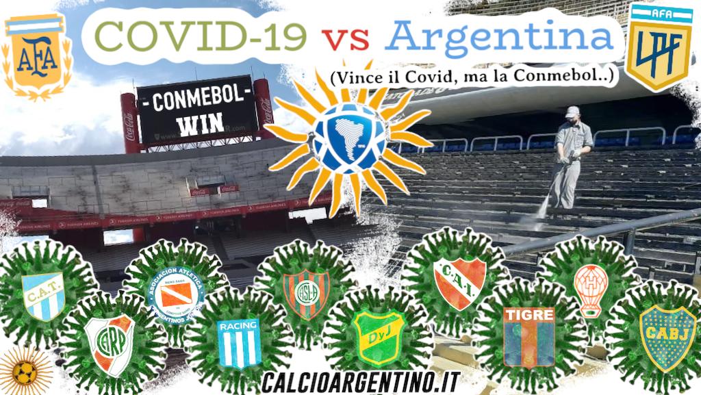 Covid-19 vs Argentina