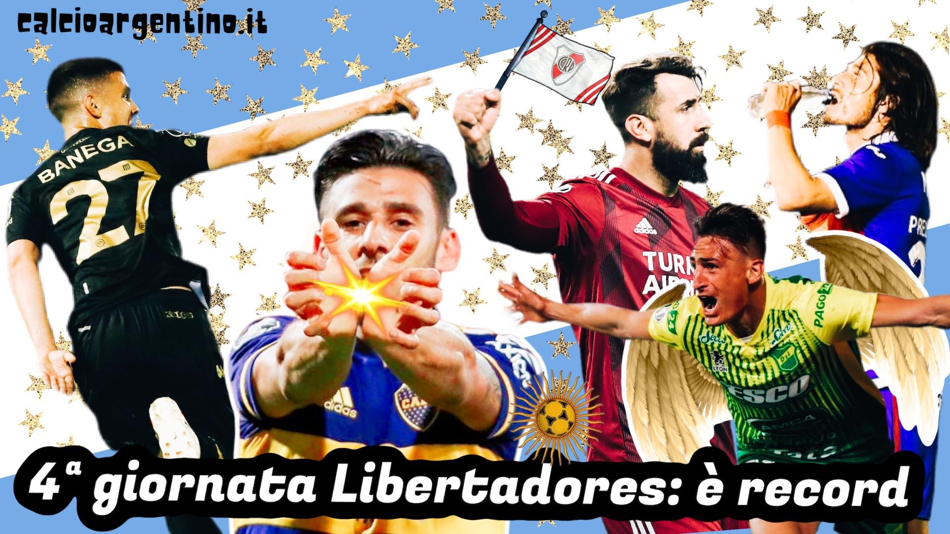 4ª giornata Libertadores, è record