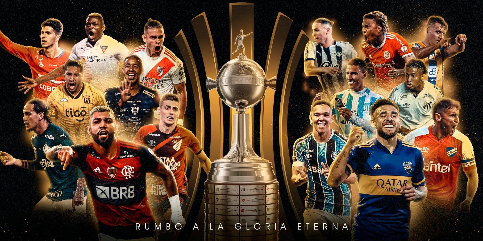 Che sorteggio! E che Libertadores!
