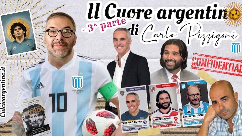 Il Cuore argentino di Carlo Pizzigoni – 3^ parte
