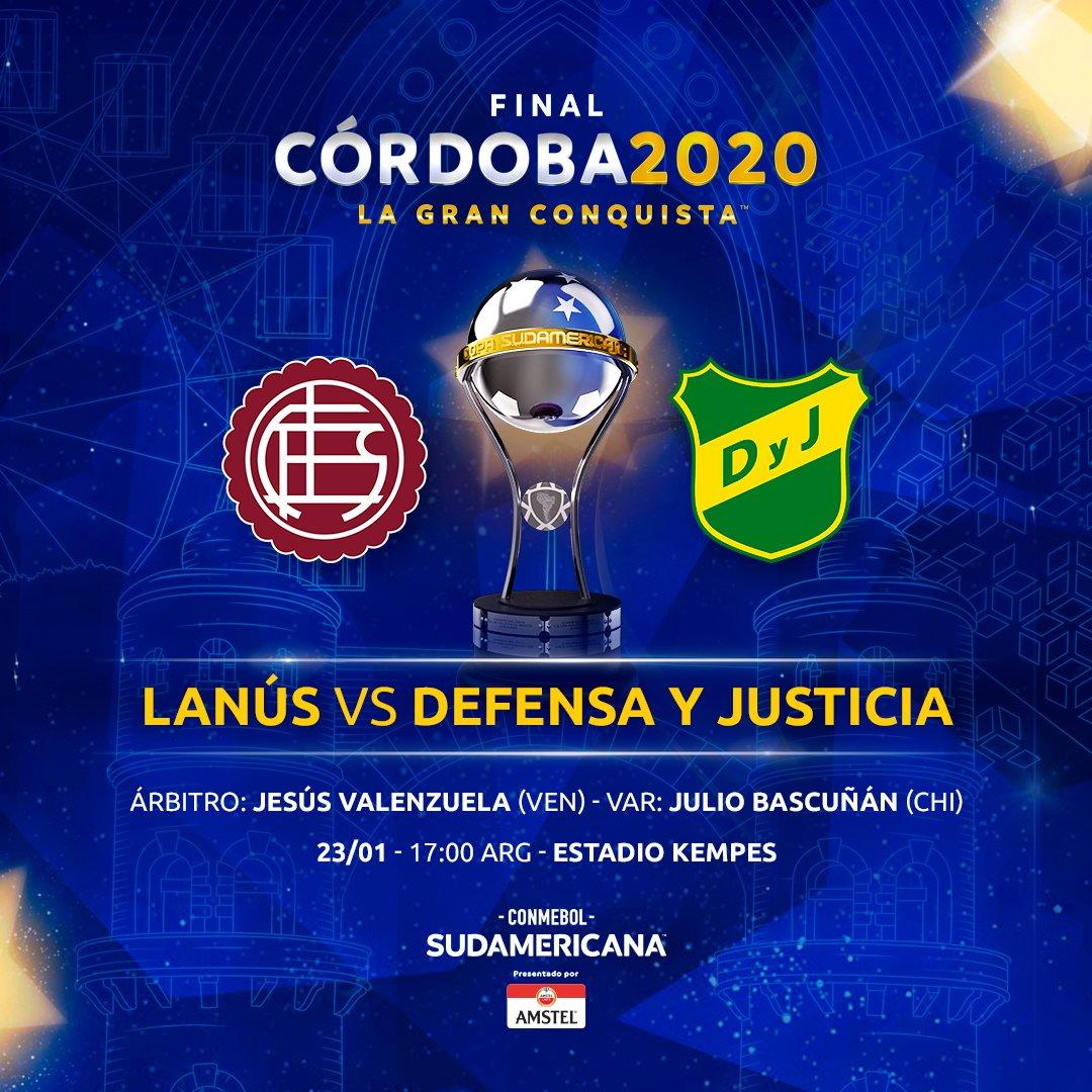 Lanus vs Defensa y Justicia: que final de Sudamericana 2020!