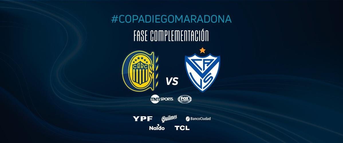 Rosario Central-Velez, la finale della 'Complementacion'