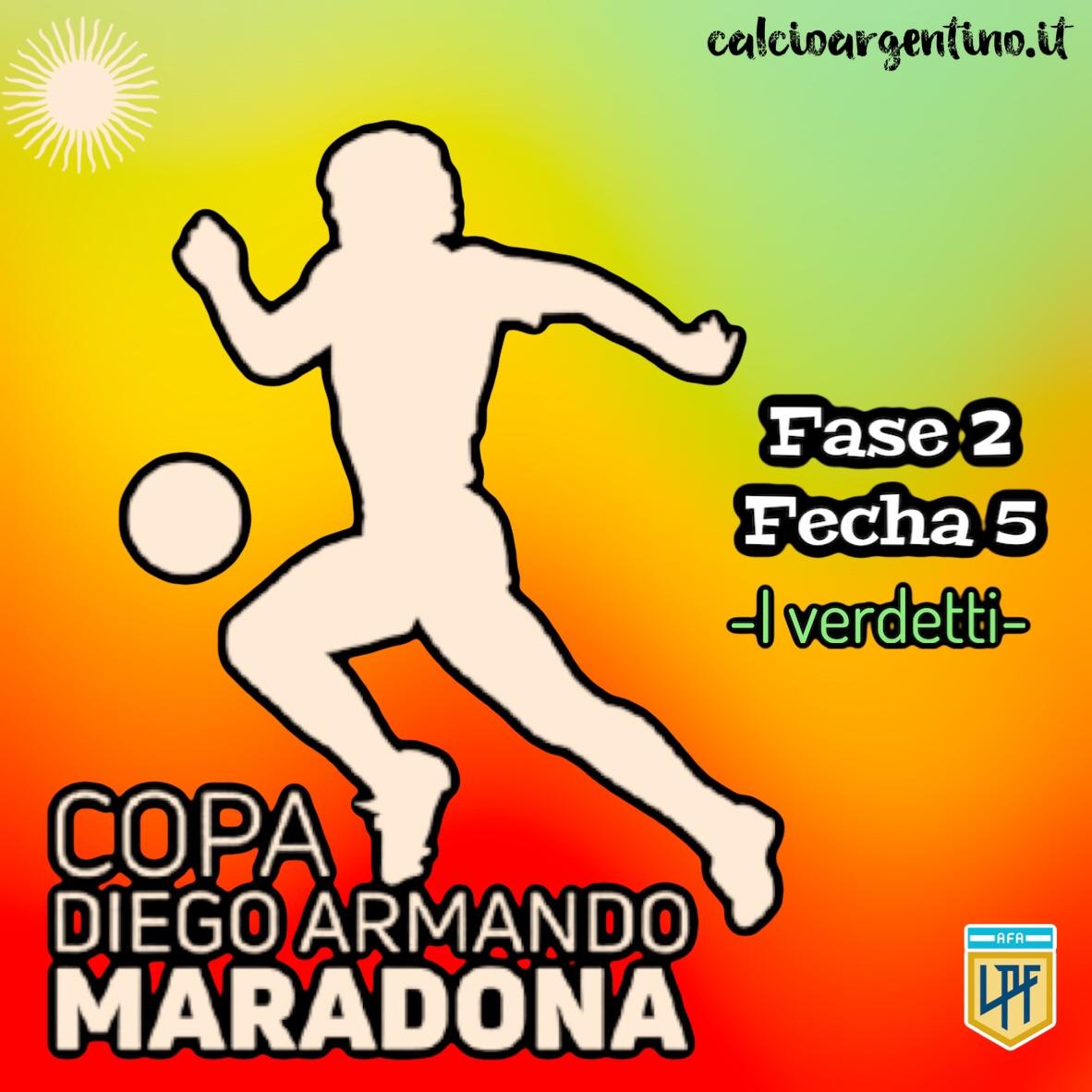 Fase 2, Fecha 5: i verdetti della Copa Maradona