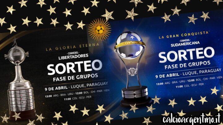 Oggi i sorteggi Libertadores e Sudamericana 2021