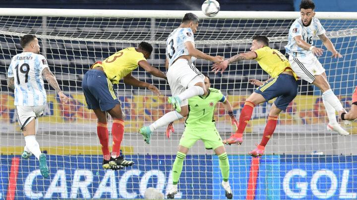 La miglior Argentina si fa raggiungere al 94′: con la Colombia termina 2-2