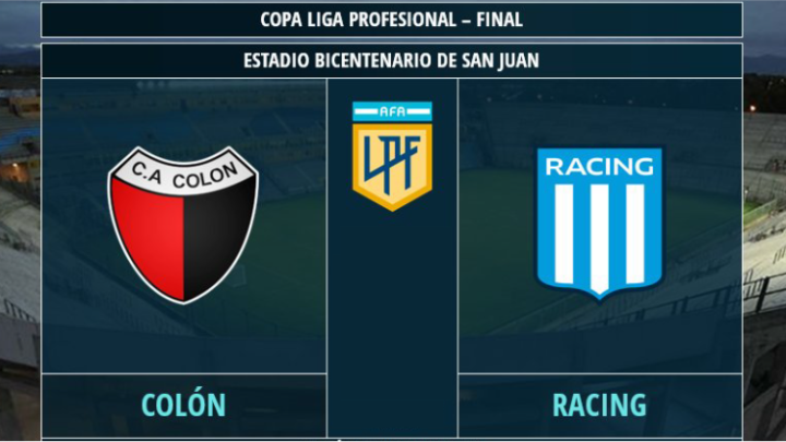 Stanotte la final! Chi alza la Copa tra Colón e Racing?
