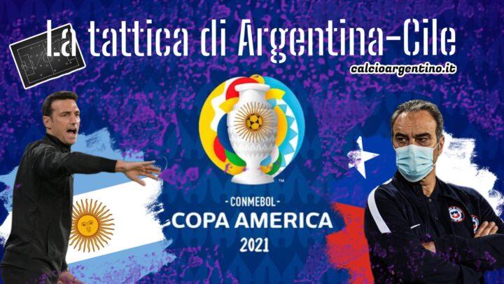 Copa America: la tattica di Argentina-Cile