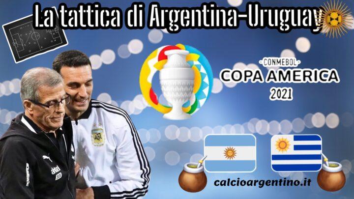 Copa America: la tattica di Argentina-Uruguay