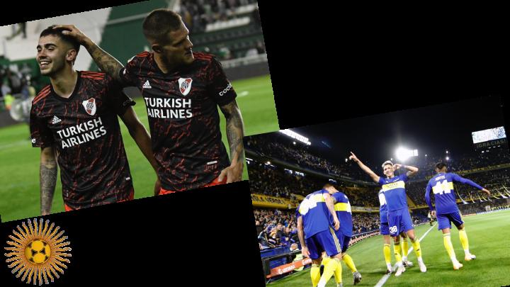 Primera División: carattere River, locura Boca